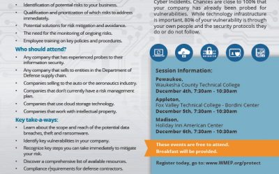 Cybersecurity Sessions Dec 4-6